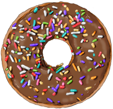 donut-chocolate