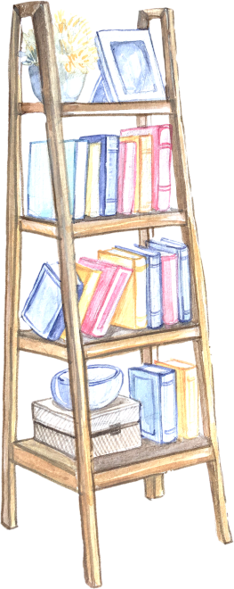 book shelf 1